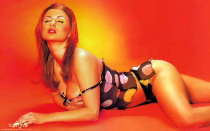 Анна Семенович фото с рыжими волосами
