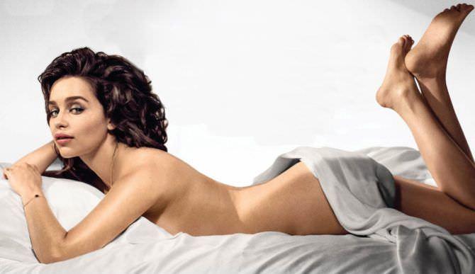 Эмилия Кларк фото с обложки