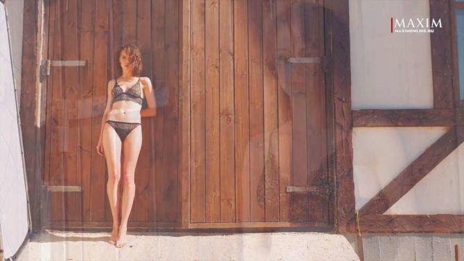 Юлия Хлынина фотосъёмка в журнале