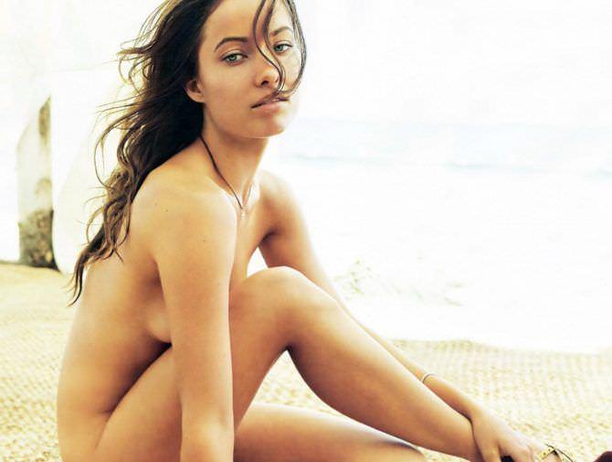 Оливия Уайлд фото без одежды