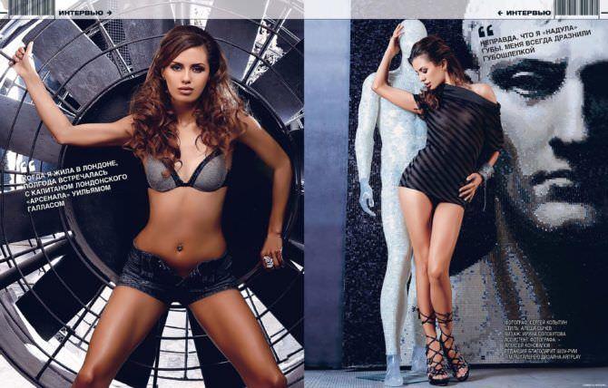 Виктория Боня фотография из журнала