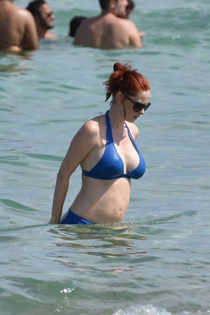 Одри Флёро фотография на пляже