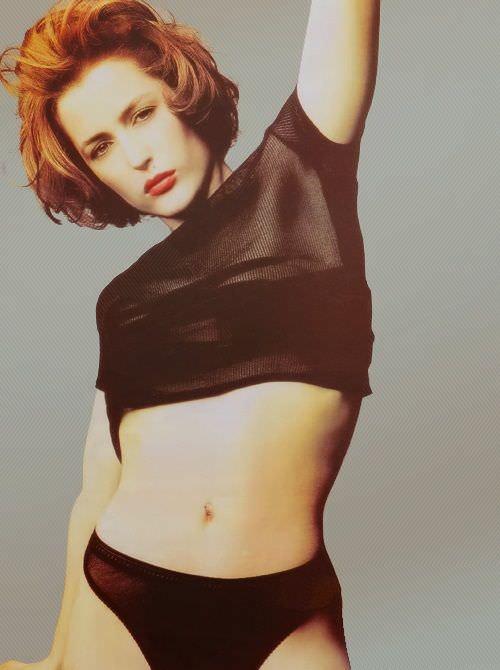 Джиллиан Андерсон фото в молодости
