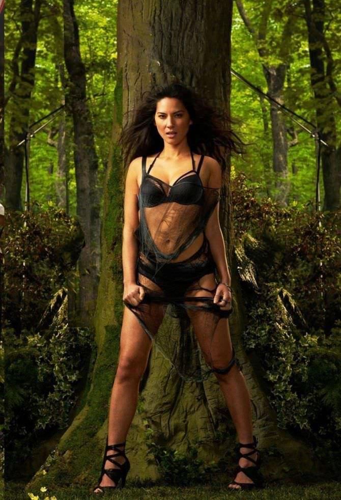 Оливия Манн фотосессия в лесу