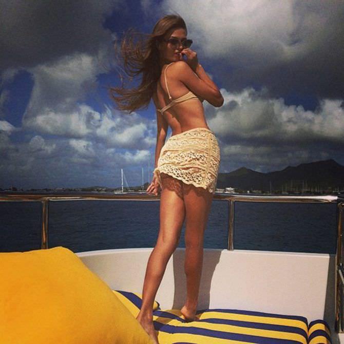 Виктория Боня фото на яхте
