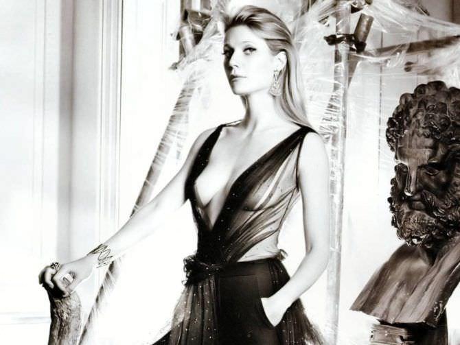 Гвинет Пэлтроу фото в прозрачном платье