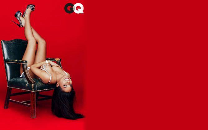 Оливия Манн фото для мужского журнала