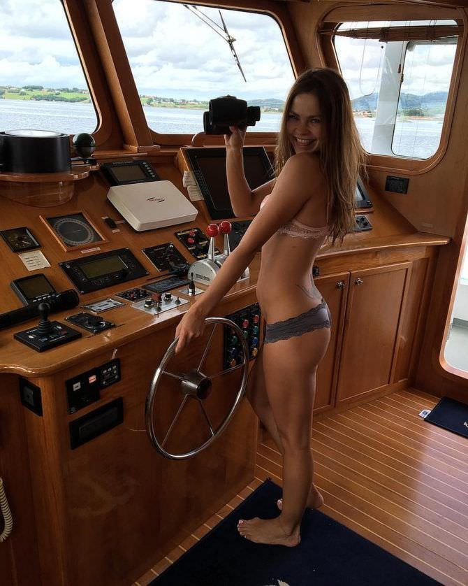 Настя Рыбка фото на яхте