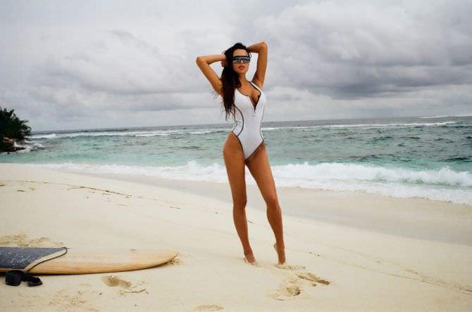 Анастасия Решетова фотография на пляже