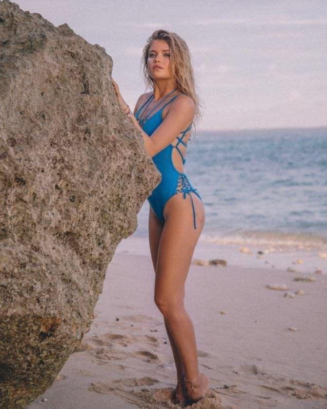 Мария Ивакова фотография со скалой