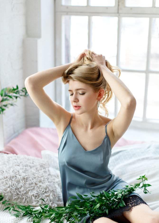 Анастасия Уколова фото в сорочке