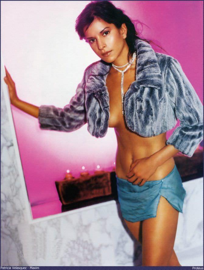 Патрисия Веласкес фото в шубе