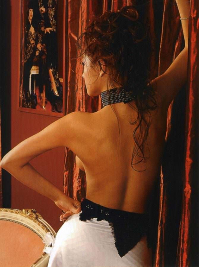Юлия Такшина фото в журнале со спины