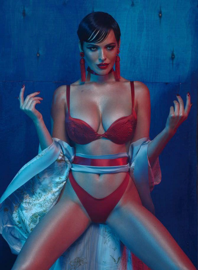 Даша Астафьева фото из журнала