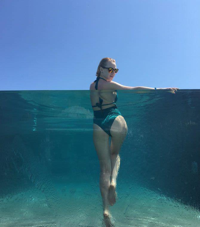 Ульяна Тригубчак фото в воде