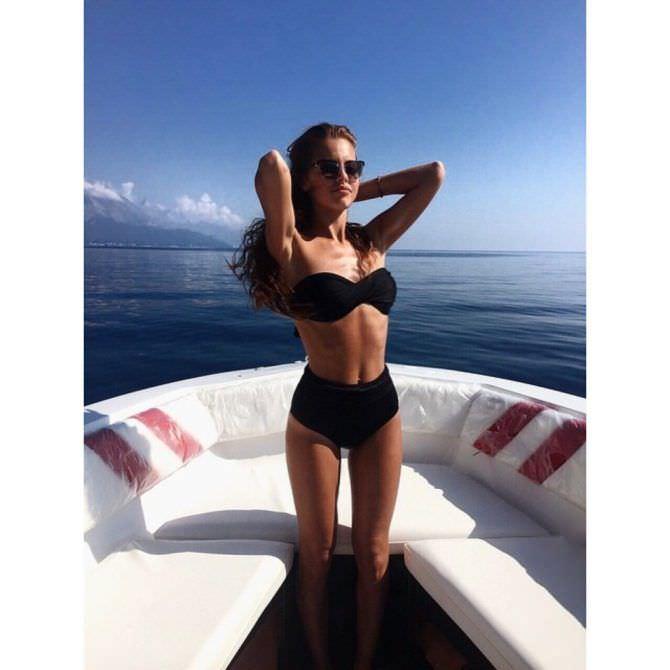 Дарья Клюкина фото на яхте
