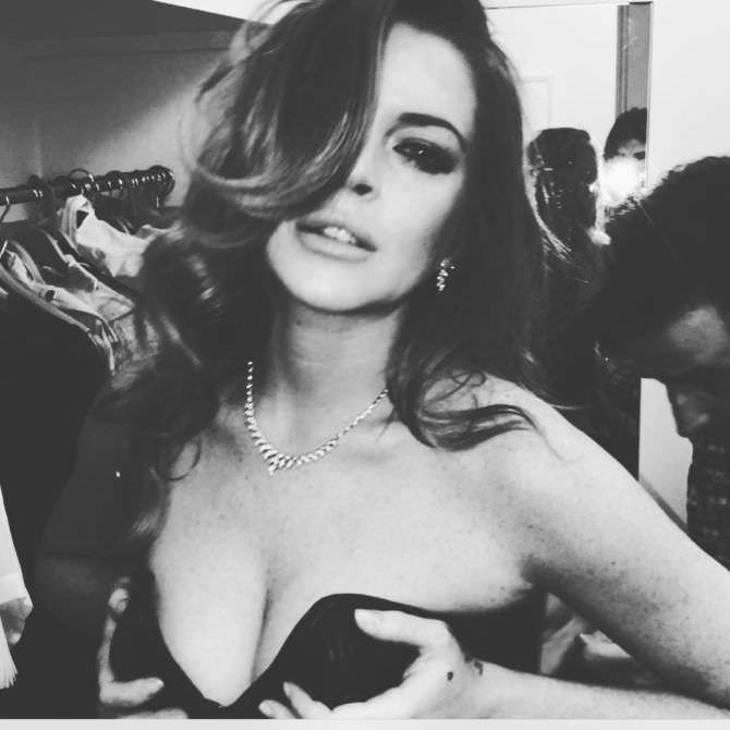 Линдси Лохан фото в инстаграм