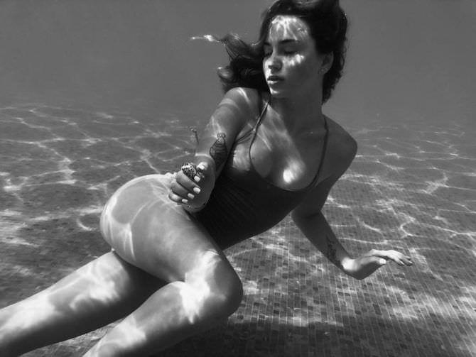 Марьяна Ро фото под водой