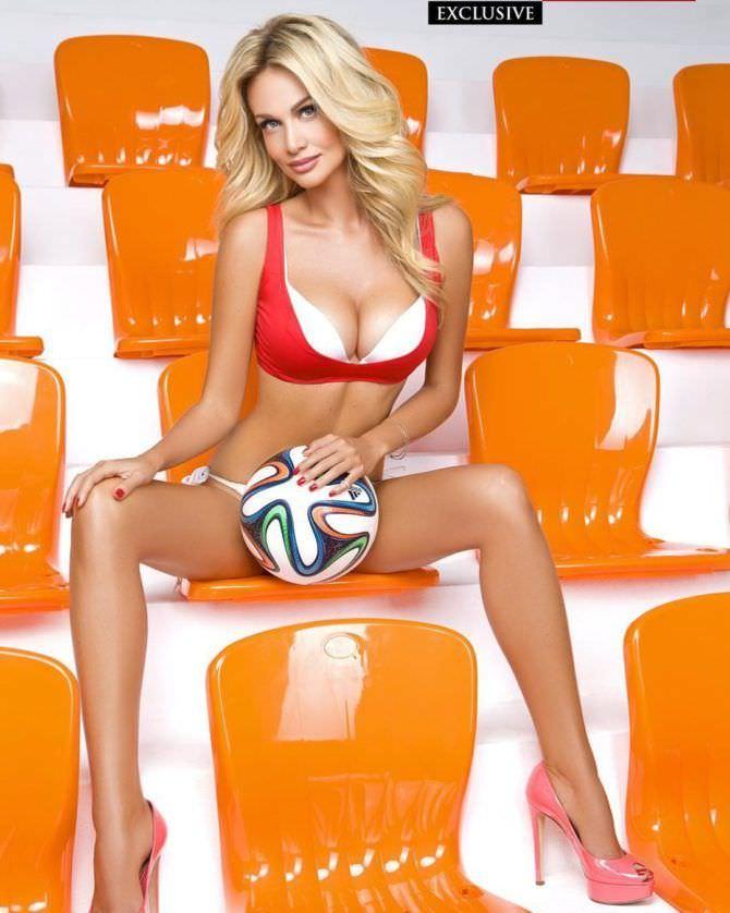 Виктория Лопырева фотосессия с мячами