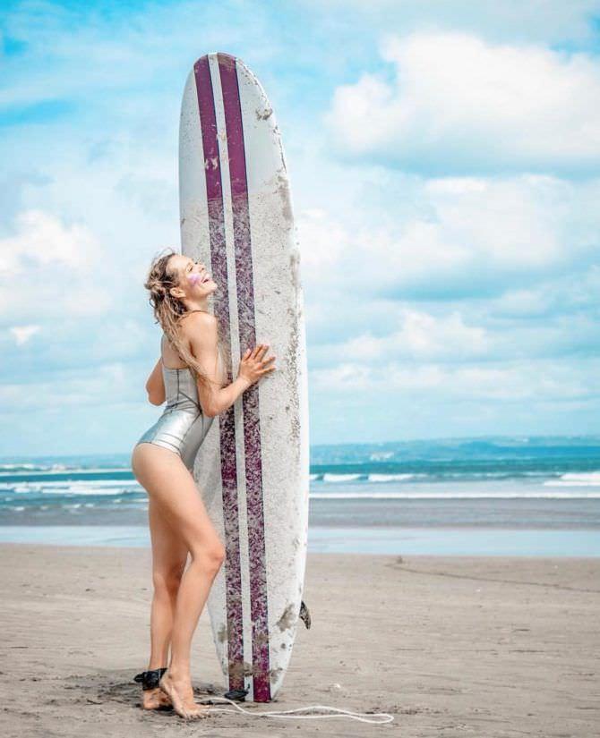 Мария Горбань фотография на пляже