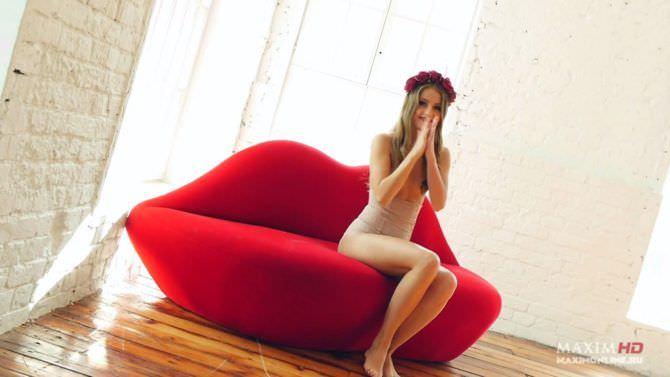 Анна Михайловская фото со съёмок в журнале