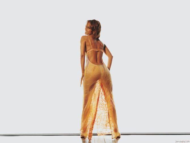 Холли Берри фото в прозрачном платье