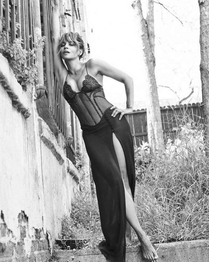 Холли Берри фотосессия в инстаграм