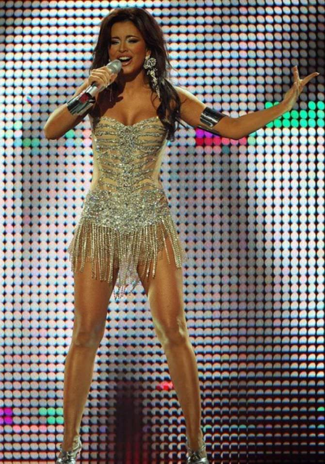 Ани Лорак фотография на сцене