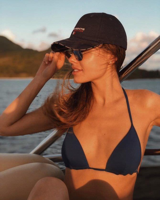 Дарья Клюкина фотография в кепке