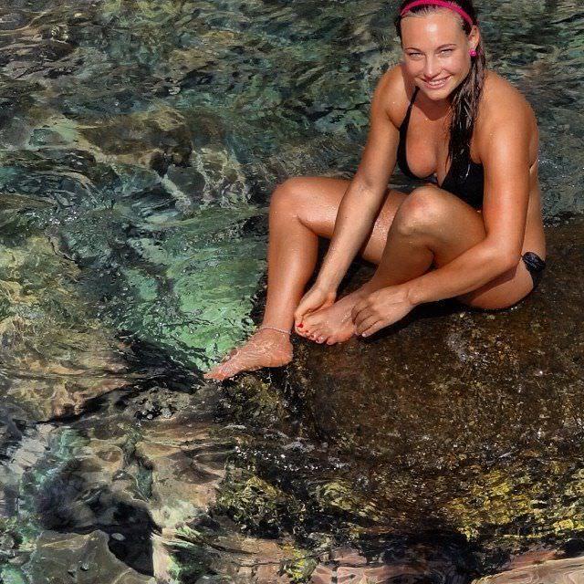 Доротея Вирер фото на пляже