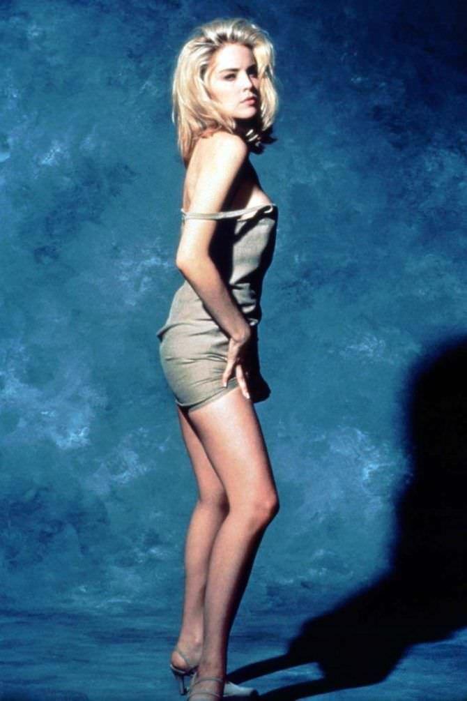 Шэрон Стоун фото в молодости