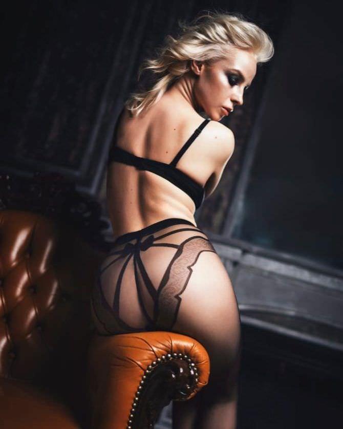 Ульяна Тригубчак фото в кружевах