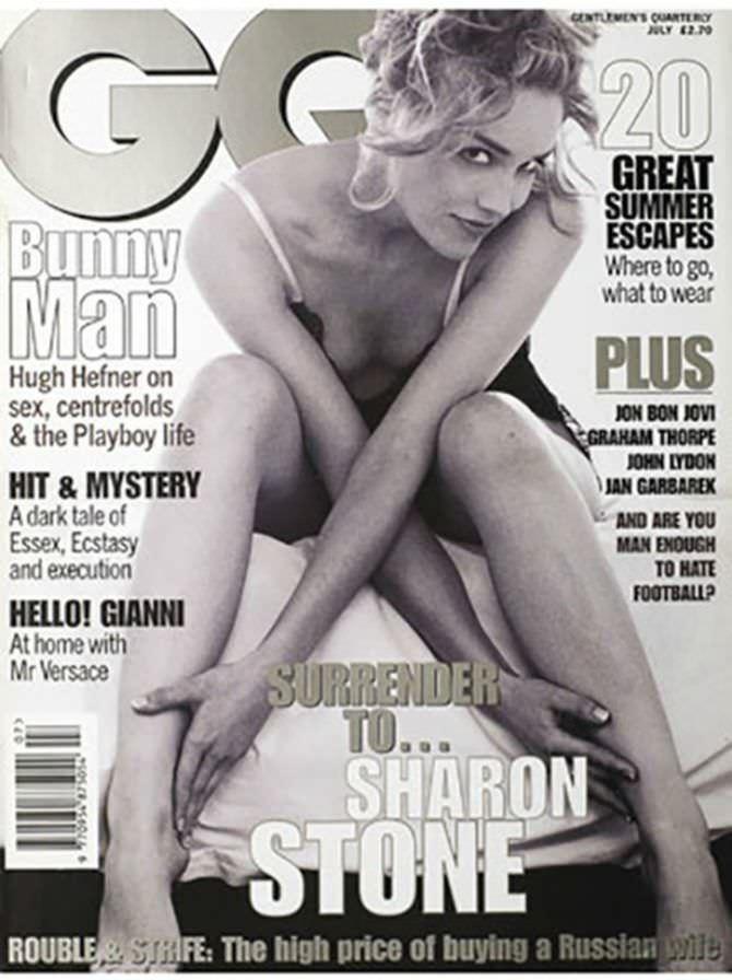 Шэрон Стоун фото с обложки GQ