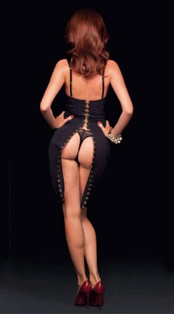 Анна Чапман фотография в платье