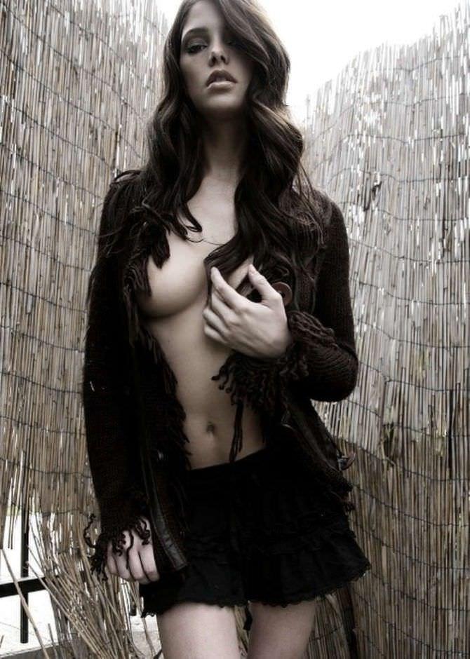 Эшли Грин фото в журнале