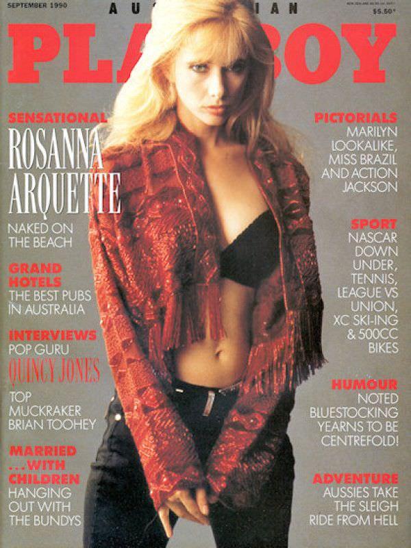 Розанна Аркетт фото с обложки 1990