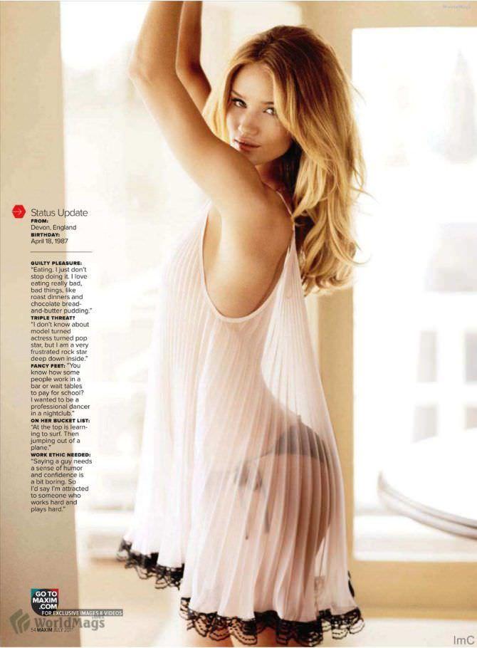 Роузи Хантингтон-Уайтли фото в журнале 2011
