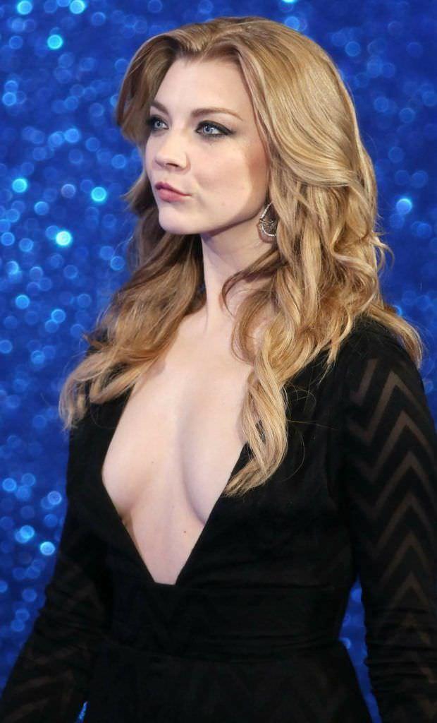 Натали Дормер фотография в платье