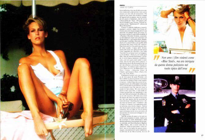 Джейми Ли Кёртис фотография из журнала