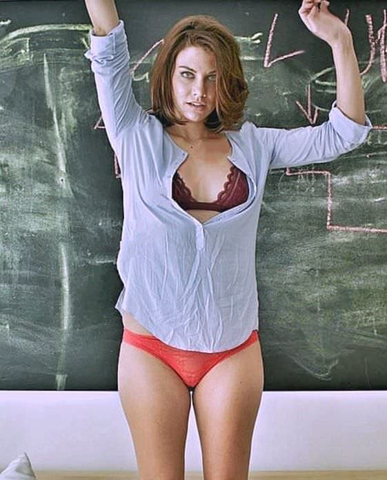 Лорен Коэн фотосессия у доски