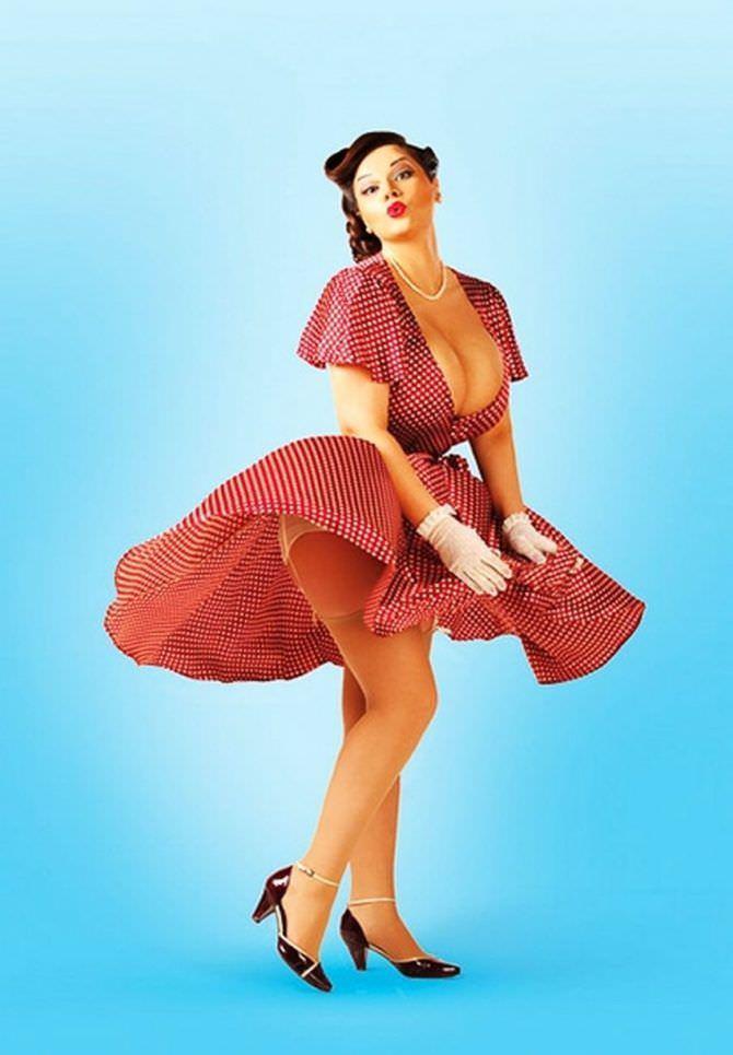 Мия Зарринг фотография в платье