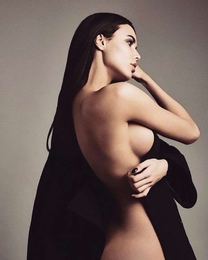 Анастасия Решетова фотосессия в пиджаке