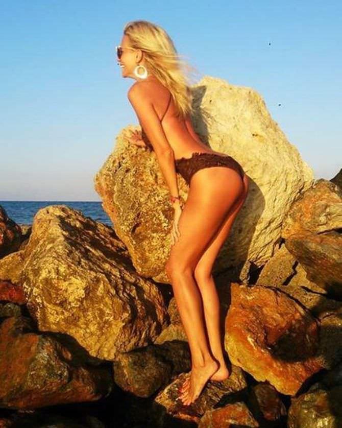 Виктория Лопырева фотография с камнями
