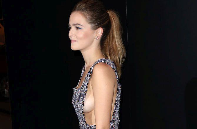Зои Дойч фото в вечернем платье