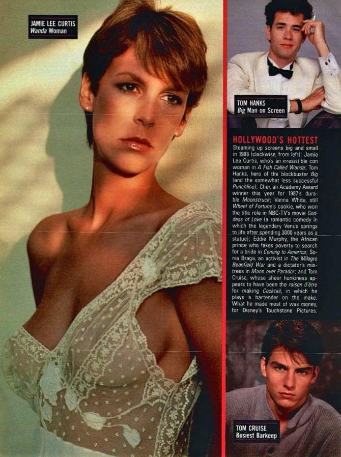 Джейми Ли Кёртис фото из журнала