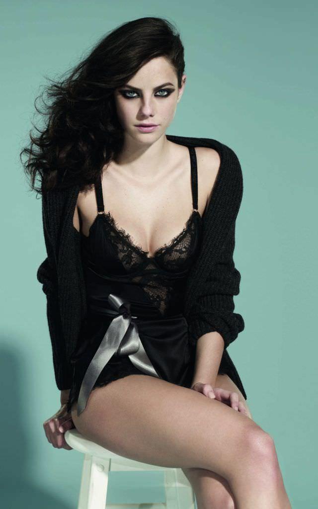 Кая Скоделарио фотография в белье