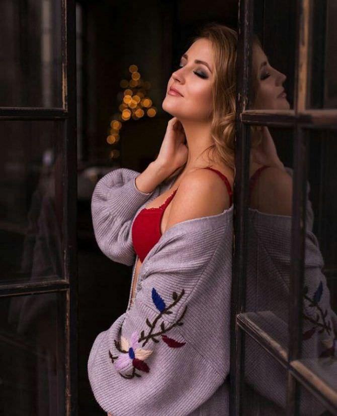 Анна Михайловская фото в белье