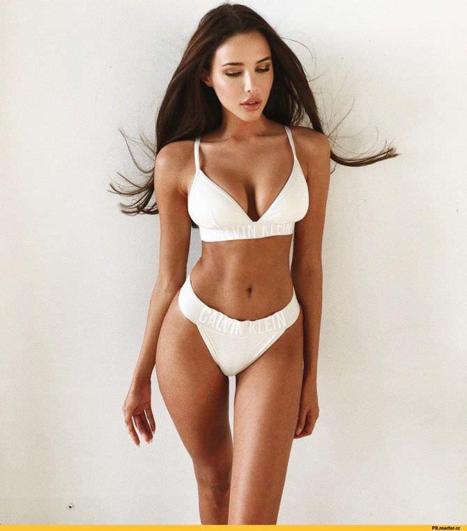 Анастасия Решетова фото в белом белье
