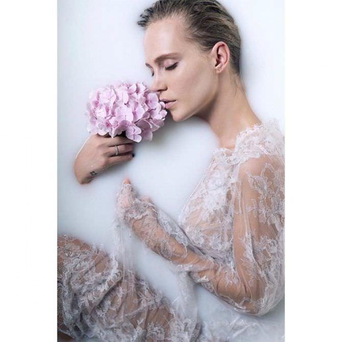 Наталья Ионова фото в ванне