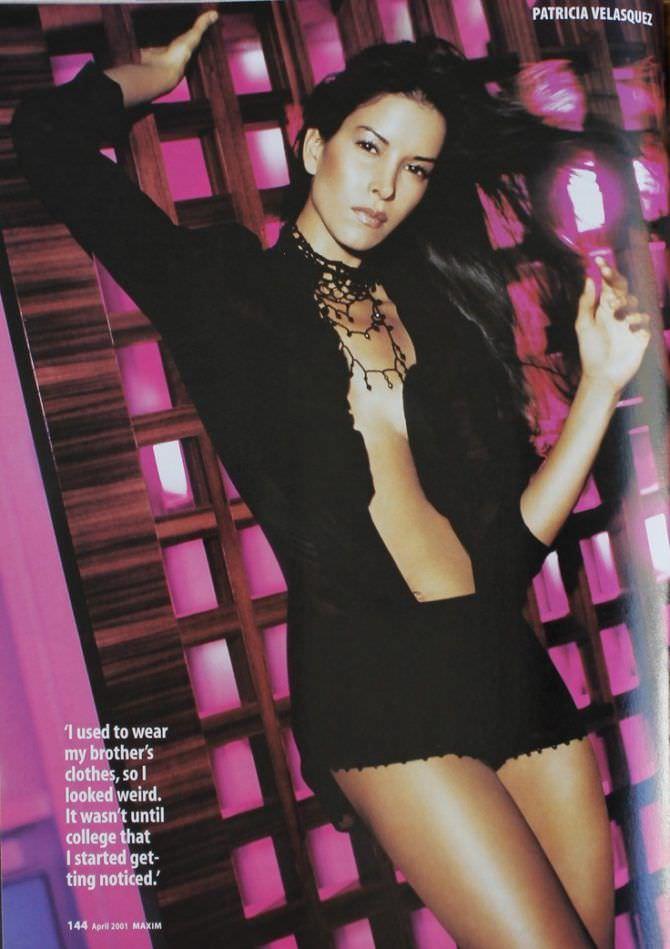 Патрисия Веласкес фотография из журнала